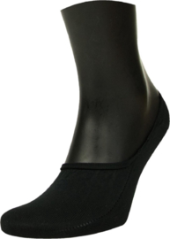 Steps Invisible Footie Sneaker Sok | 5-Pack | Zwart