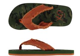 Teenslippers | Flipflops voor jongens | Camouflage