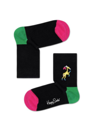 Happy Socks Kids Monkey Embroidery Socks