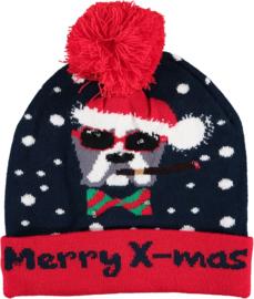Sarlini Kerstmuts met lichtjes | Merry X-Mas