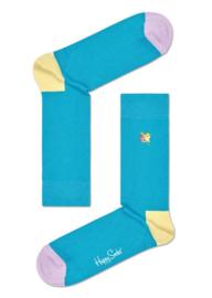 Happy Socks Hibiscus Embroidery Socks