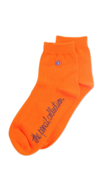 Alfredo Gonzales Short |Low Sock, Pencil Orange