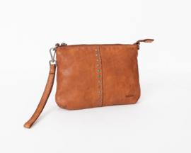 Bag2Bag Lucia Limited Schoudertasje | Crossbody | Clutch Cognac
