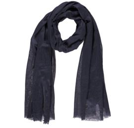 Sarlini lange Dames sjaal Navy
