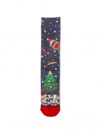 XPooos Socks, kerstsokken, Xmas Christmas Tree 60056