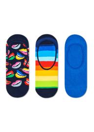 Happy Socks 3-Pack Liner | Sneaker Socks Lips