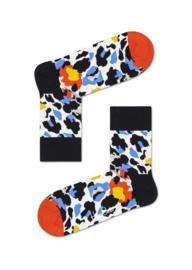 Happy Socks Leopard Half Crew Socks
