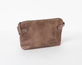 Bag2Bag Dawson Schoudertasje | Crossbody | Clutch Grey/Brownish