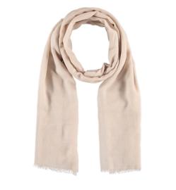 Sarlini lange Dames sjaal met subtiele zilver glanslook | Zand