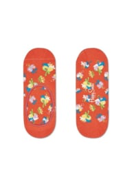Happy Socks Liner | Sneakersock | Hibiscus