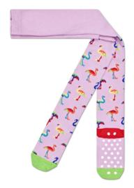 Happy Socks Kids Antislip Maillot, Flamingo Tights
