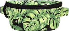 MiPac BumBag | Heuptasjes Tropical Leaf - Black