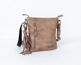 Bag2Bag Gran   Compact Schoudertasje   Crossbody   Grey/Brownish
