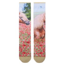 Stapp Horse Kneehigh | Kniekous | Flower Printed