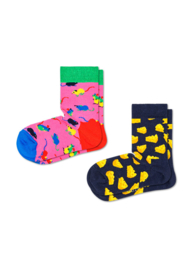 Happy Socks Kids 2-Pack Mouse Socks