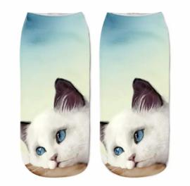 Dames Sneakersok Cats, Sweetie Maat 36/39