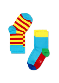 Happy Kids 2-pack  Red & Yellow Stripes