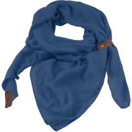 Lot83 Sjaal   Puk   Jeans blauw
