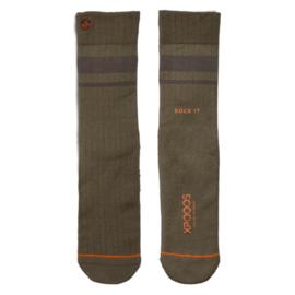 XPooos Essential Bamboo Sokken Khaki Melange 67003
