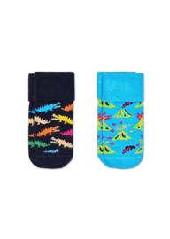 Happy Socks 2-Pack Danger Terry Socks 0-6 Maanden