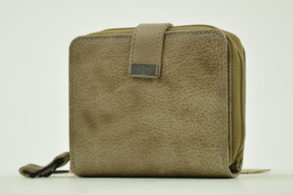 Bag2Bag Compact Portemonneetje Lima, Grey/Brownish