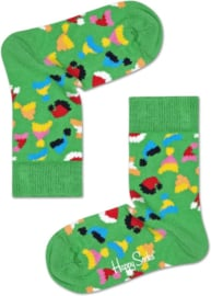 Happy Socks Kids 3-pack Happy Holidahs GiftBox, Candy, Maat 2-3 Jaar, Maat 24-26