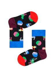 Happy Socks Kids Yin Yang Cow Sock