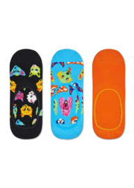 Happy Socks 3-Pack Liner | Sneaker Socks Funny Cats & Dogs