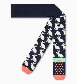 Happy Socks Kids Antislip Maillot, Bunny Tights