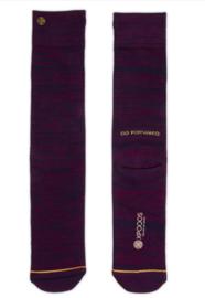 XPooos Essential Bamboo Sokken Bordeaux Mel. 67004