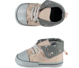 Baby Sneakerschoentjes | Zalmroze Grijs