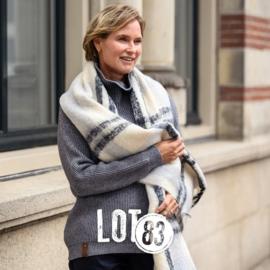 LOT83   Knitted Gebreide trui   Vera Dark Grey