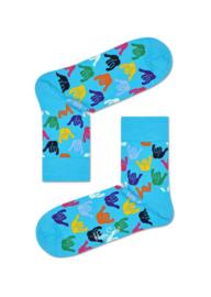 Happy Socks Hang Loose Half Crew Socks