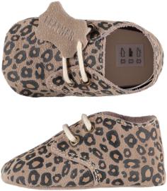 XQ Leren babyschoentjes Leopard