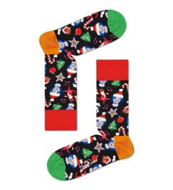 Happy Socks vs Gaten Matarazzo | Santa Cats & Hats Sock