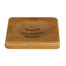 HappySoaps Zeep Houder van Bamboe voor één Shampoo Bar