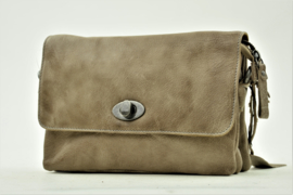 Bag2Bag Stoere Schoudertas Spring, Grey/Brownish