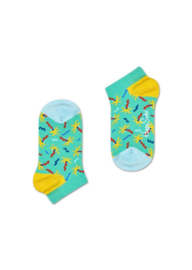 Happy Socks Kids Confetti Palm Low Sock