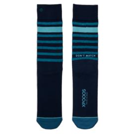 XPooos Essential Bamboo Sokken Marine Blauw 67005