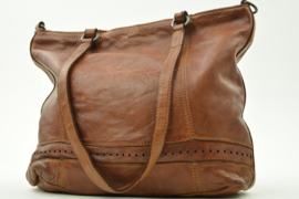 Bag2Bag Limited Edition Shopper   Denton Cognac