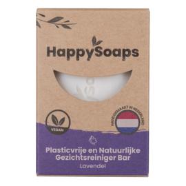 HappySoaps Gezichtsreiniger Bar - Lavendel
