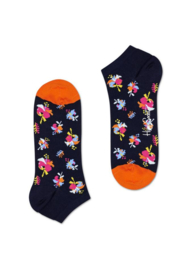 Happy Socks Low Socks | Sneaker Sok | Hibiscus