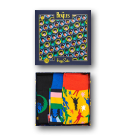 Happy Socks Collabs 3-Pack Gift box The Beatles Multi