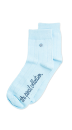 Alfredo Gonzales Short |Low Sock, Pencil Licht Blauw