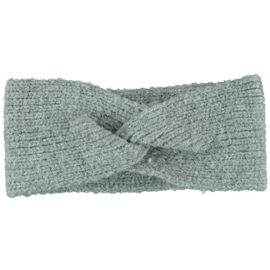 Sarlini   Knitted Gebreide Haarband Clara   Grey Melange