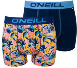 O'Neill Heren Boxershorts leaf | 2-pack | 900602
