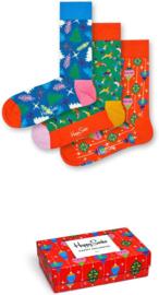 Happy Socks Christmas 3-Pack Singing Gift box