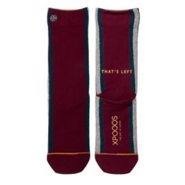 XPooos Essential Bamboo Sokken Bordeaux 77004