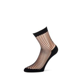 Marianne Fishnet | Visnet kousje Zwart, One Size