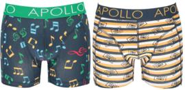 Apollo   Heren boxershorts   2-Pack Giftbox   Music